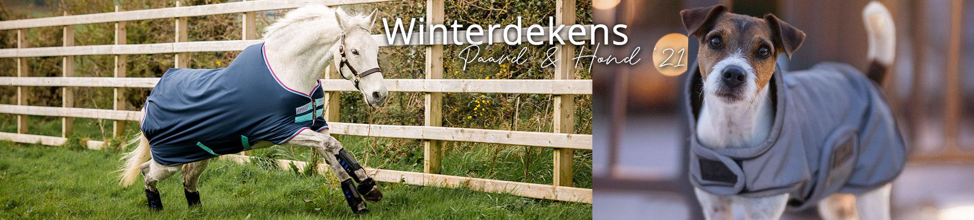Winterdekens paard & hond