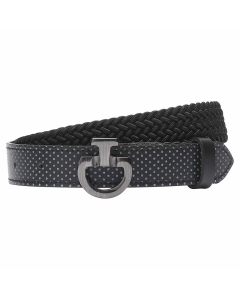 Riem Cavalleria Toscana Total Black Buckle heren