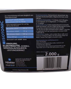 Isotonic Powder Höveler Supplementen