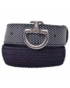 Riem Cavalleria Toscana Elastic met Perforated Leather