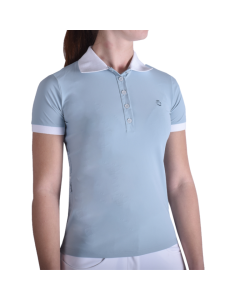 Polo Cavalleria Toscana Perforated Side Zip Polo