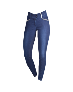 Paardrijbroek Essentials by PK Allura Jeans Full Grip