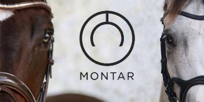 Het fijne leder in de hoofdstellen van Montar